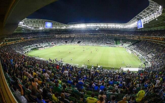 Allianz Parque, onde o Palmeiras se divide entre futebol e shows
