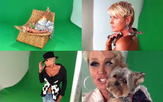 Xuxa obedece pedidos da Globo e grava com corpo a mostra nova abertura de seu programa
