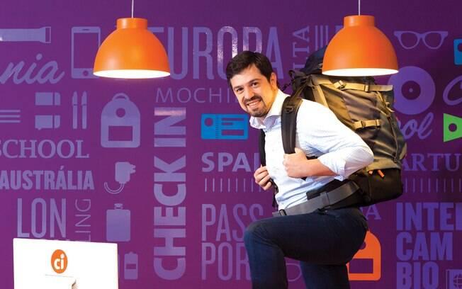 Gilberto Mingrone, diretor-geral do grupo CI, cursos em 50 países e receita de R$ 325 milhões