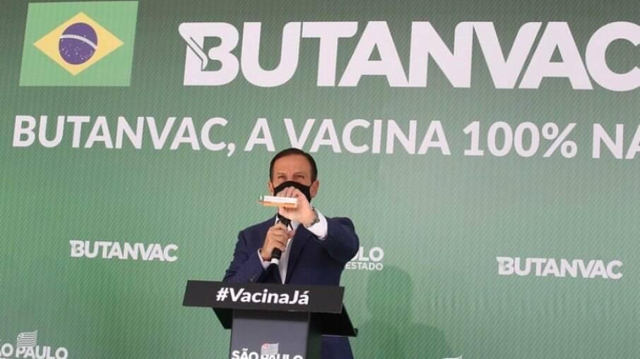 Doria participou do início da aplicação da Butanvac em Ribeirão