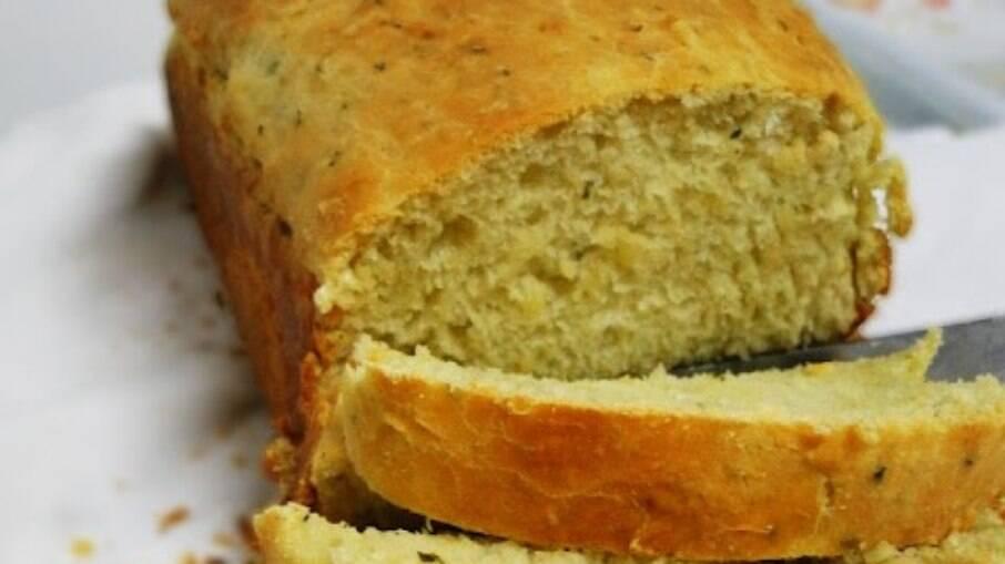Manjericão no pão? Dá certo sim