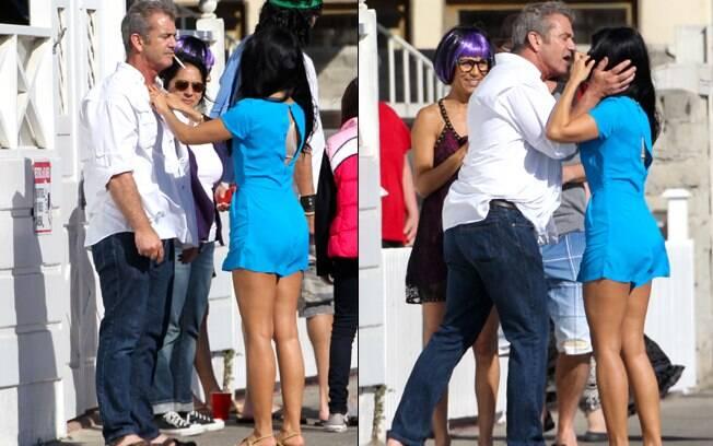 Mel Gibson: solteiro em ação