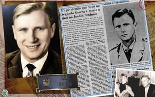Exército Brasileiro homenageia major alemão que lutou junto a nazistas