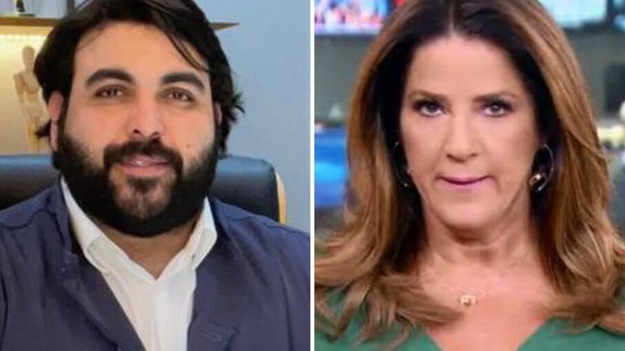 José Fernandes Vilas e Christiane Pelajo