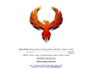 Com logotipo de Fênix, The Pirate Bay está no ar novamente em domínio suéco