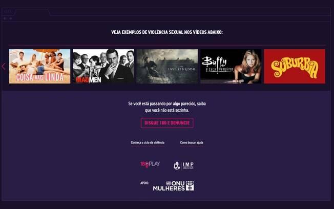 Plataforma de streaming 180 Play busca a conscientização sobre a violência contra a mulher por meio da ficção