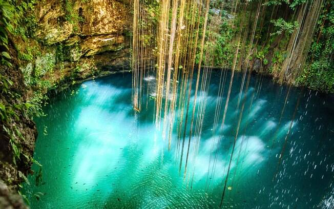 Cenote IkKil, Iucatã