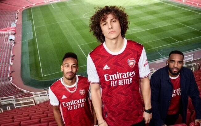 No uniforme do Arsenal para a temporada 2020/21; veja detalhes sobre ele abaixo