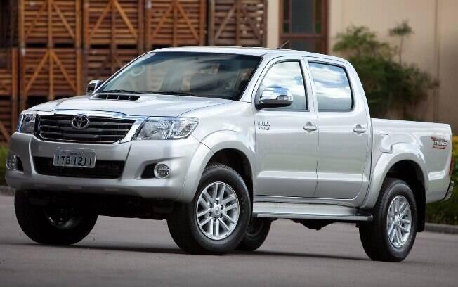 Encerramos a lista com a Toyota Hilux, grande sonho de consumo entre os fãs de picapes médias