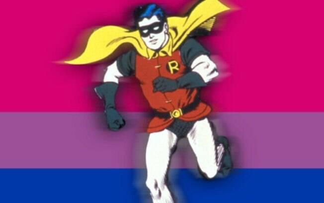 Robin é oficialmente queer