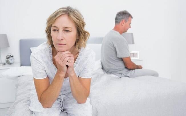 A vida afetiva e sexual pode cair em declínio quando a mulher não admira o seu parceiro