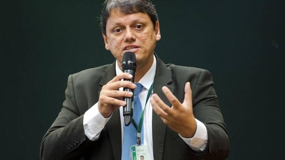 Ministro da Infraestrutura,Tarcísio de Freitas