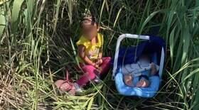 2 crianças são abandonadas entre o México e os EUA