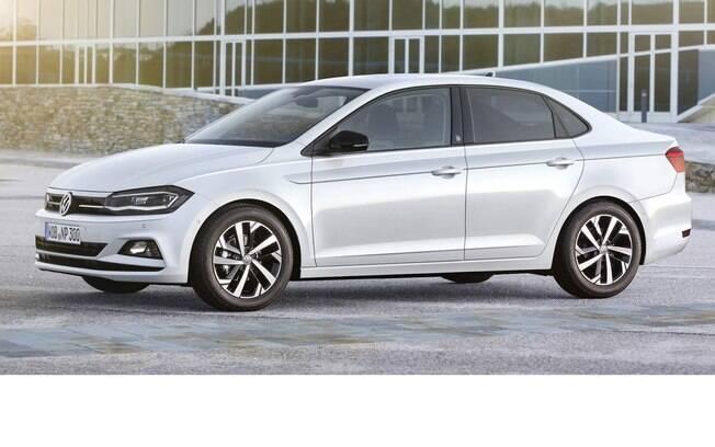 Volkswagen Virtus: entre os sedãs compactos,  novo modelo será posicionado entre o Voyage e o Jetta