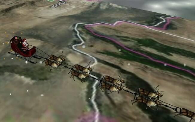 Site do Norad mostra a localização do Papai Noel em tempo real nesta véspera de Natal