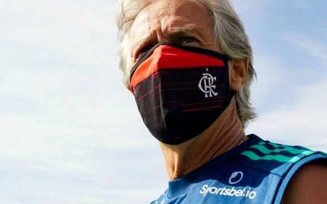 Jorge Jesus, ainda no Flamengo