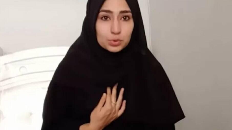 Najma Sadeqi é vítima de atentado talibã