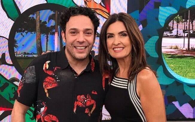 Marcelo Médici e Fátima Bernardes
