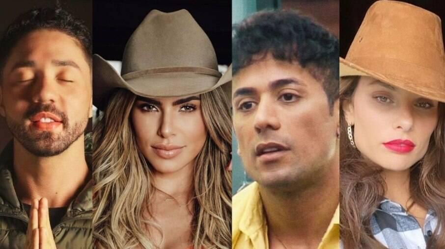 Rico Melquiades, Erika Schneider, Tiago Piquilo, Dayane Mello