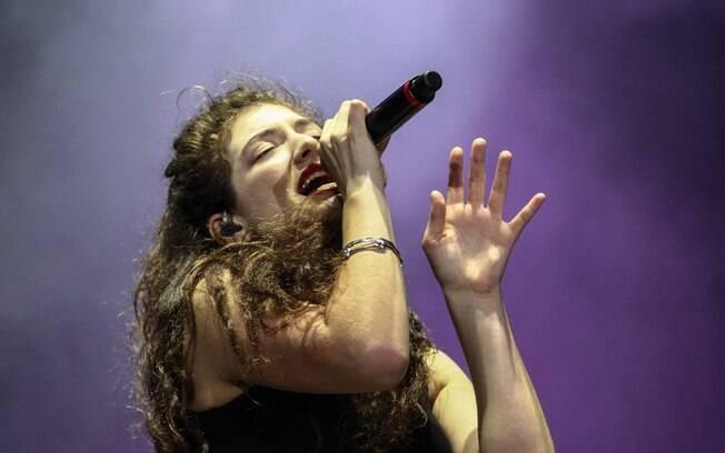 Lorde tocou no Lollapalooza Brasil 2014