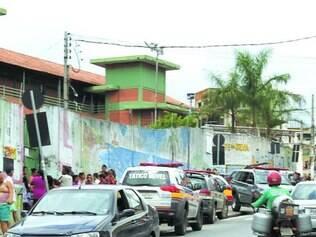 Jardim Teresópolis. O tiroteio em escola ocorreu no fim da manhã