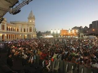Praça da Estação foi um dos grandes palcos da Virada Cultural