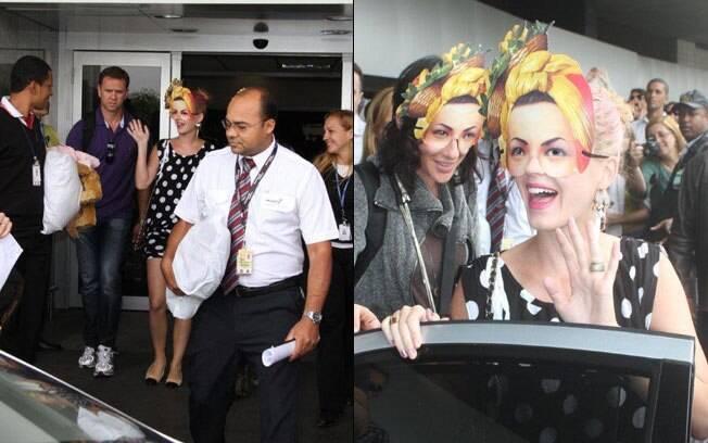 Katy Perry se apresenta no primeiro dia de Rock in Rio