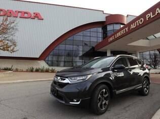 Honda CR-V 2017 na unidade de produção em Ohio, nos Estados Unidos