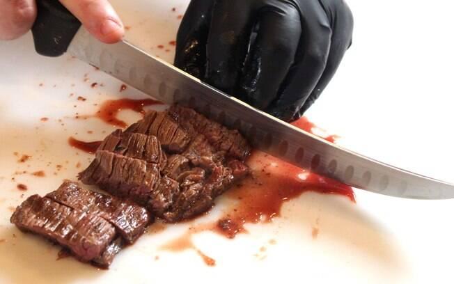 como cortar carne
