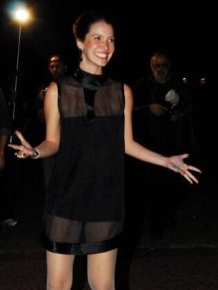 Nathalia Dill na pré-estreia em São Paulo