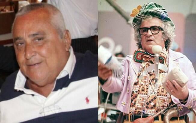 Nanato Barbosa, filho de Chacrinha, morre aos 63 anos, no Rio