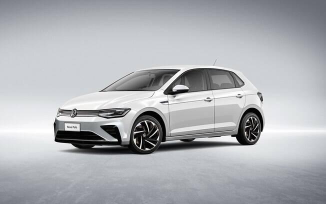 VW Polo deverá ficar com aspecto mais esportivo na linha 2022, assim como o sedã Virtus, ambos compactos de sucesso