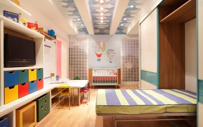 Cavaletes e pallets decoram os ambientes da Morar Mais Rio  ~ Quarto Montessoriano Para Irmaos
