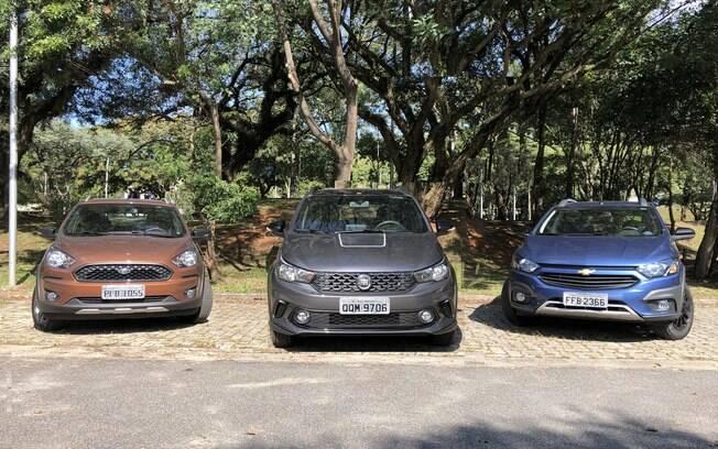 O recém-lançado Fiat Argo Trekking tem um belo visual, mas é mais simples do que deveria na comparação com os rivais