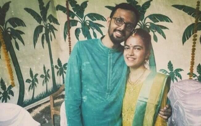 Prashin Jagger e Deepa Kamath fizeram questão de preparar um casamento que não causasse grandes impactos no meio ambiente