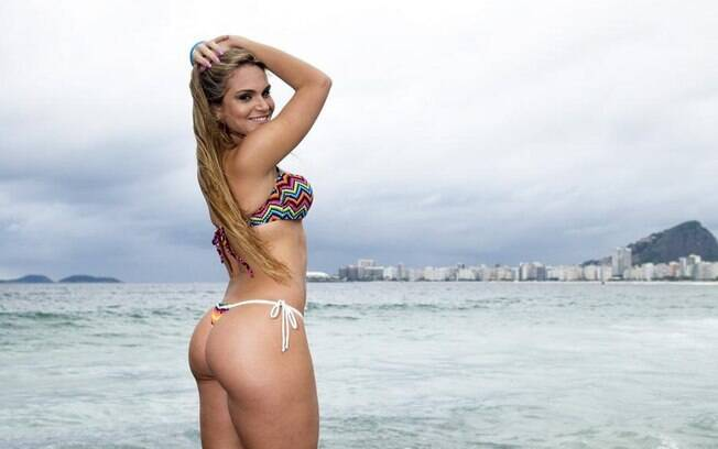 Bianca Salgueiro chamou atenção no Carnaval carioca