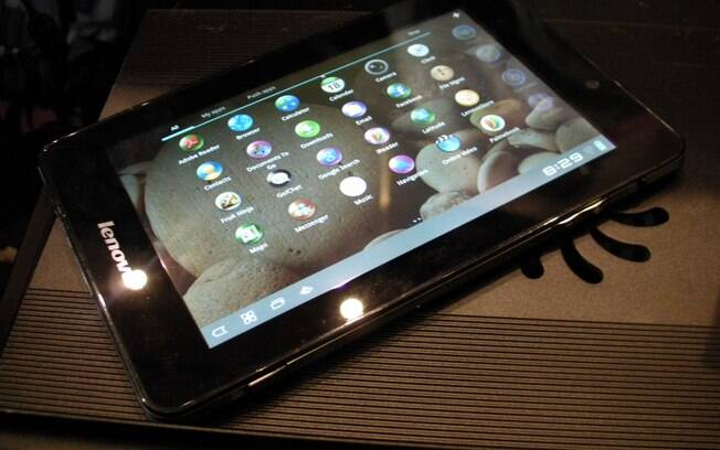 Com tela de 7 polegadas, novo tablet da Lenovo vem com Android Honeycomb