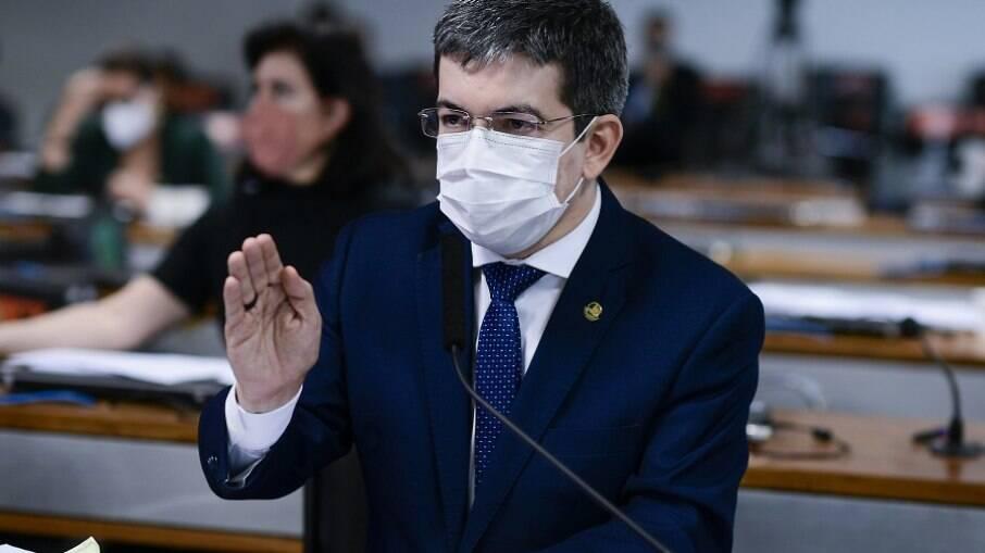 Vice-presidente da CPI, senador Randolfe Rodrigues (Rede-AP)