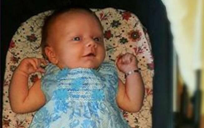 Parto surpresa: Sarah não sabia da existência da pequena Desirae, pois a placenta estava em frente ao útero