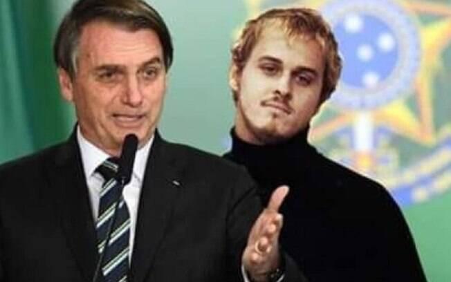 Bolsonaro e Alexandre