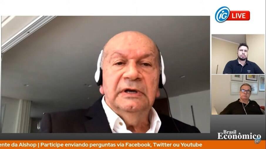 Presidente da Alshop concedeu entrevista para live Brasil Econômico desta quinta-feira (29)