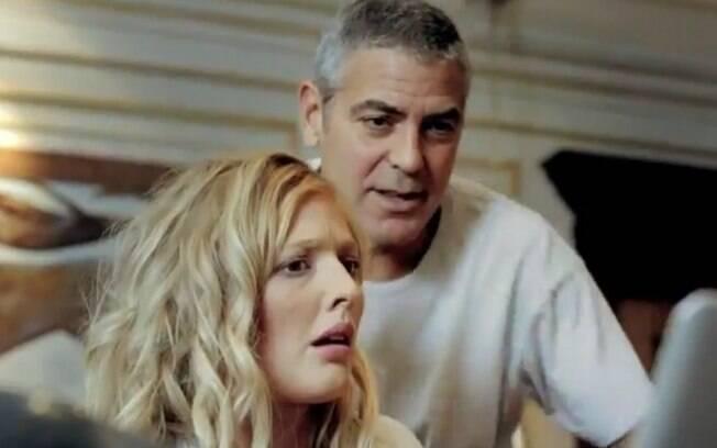 George Clooney no comercial do banco norueguês