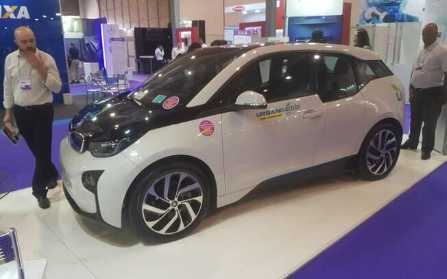 A Urbano apresentou o conceito de carro compartilhado no Salão de Veículos Elétricos