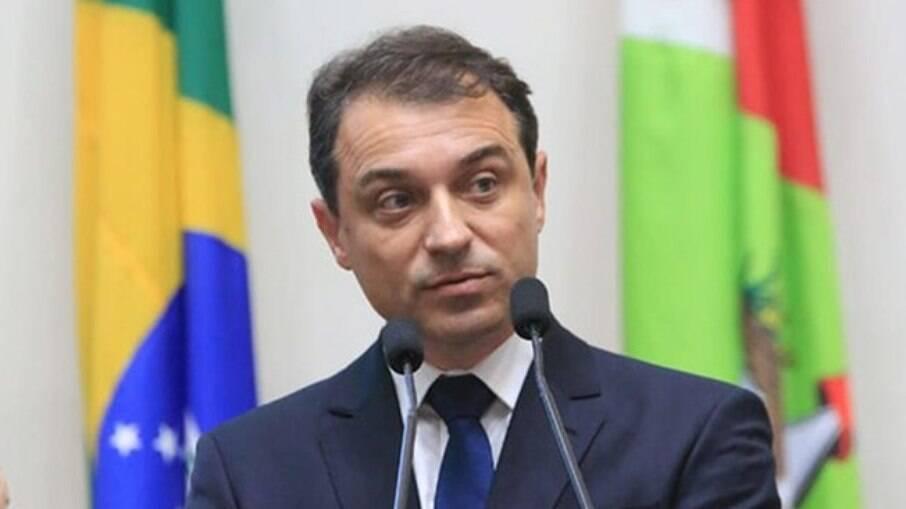 Carlos Moíses, governador de Santa Catarina