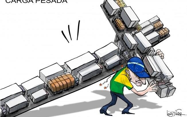 Lézio Junior apontou no Diário da Região a carga da greve para o brasileiro
