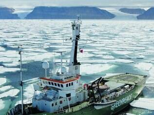 Davastador. Se o derretimento das calotas de gelo continuar nesse ritmo, o mar pode subir 4,9 metros