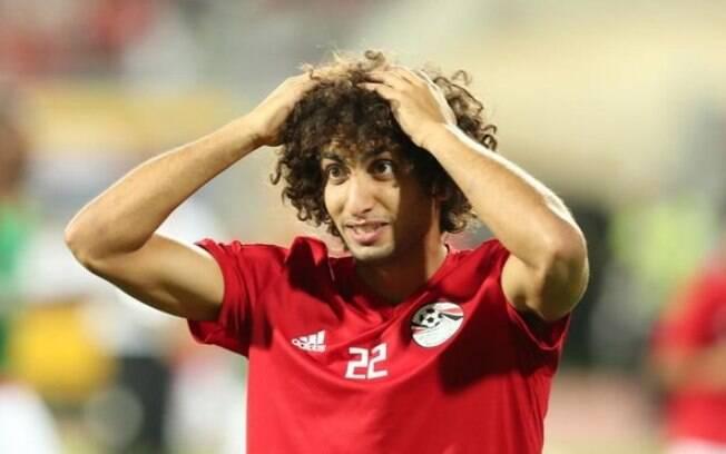 Amr Warda foi acusado de assédio por várias mulheres nas redes sociais e afastado da seleção egípcia