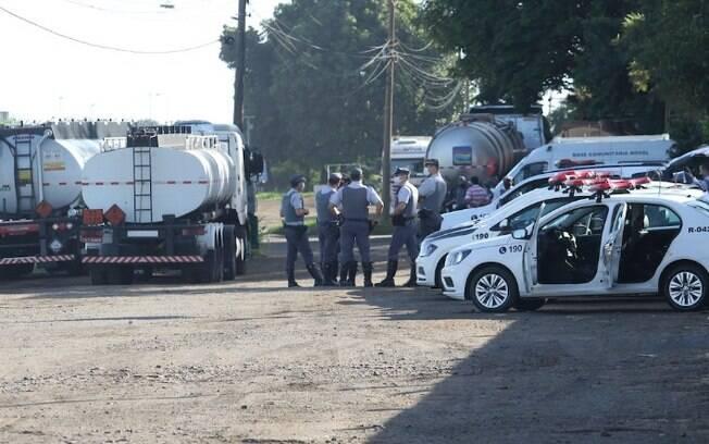 Protesto de caminhoneiros é dispersado após atropelamento em Paulínia