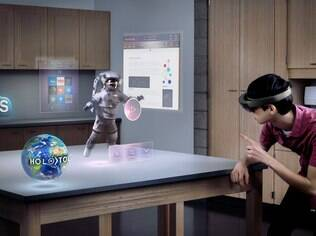 Para o Facebook, óculos serão mais parecidos com o HoloLens, que integra realidade com o virtual