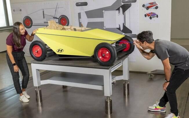 Hyundai Soapbox pode ser de brinquedo, mas tem o aval da Hyundai quando o assunto é qualidade de fabricação